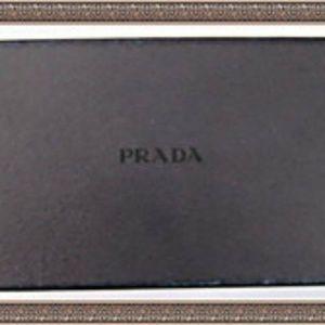 798ad87d1d896 Prada Accessories - Prada Ipod Mini White Bianco Saffiano Case 1N1252